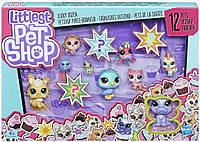 Набор игрушек  HASBRO 12 СЧАСТЛИВЫХ ПЕТОВ (E3034_E5161)