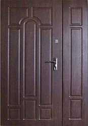 Входная дверь Форт Люкс Классик орех коньячный 1200х2050