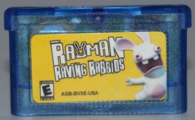 """Картридж на GBA """"Rayman Raving Rabbids"""""""