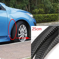 """Молдінг гумовий """"під карбон"""" на колісні арки 25 см 1 шт. , фото 1"""