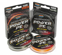 "Шнур ""Fishing ROI"" Power PE 100% 150m /#1.2/ 14Lb (dark green)"