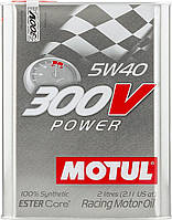Масло моторное MOTUL 300V Power SAE 5W40 (2L)