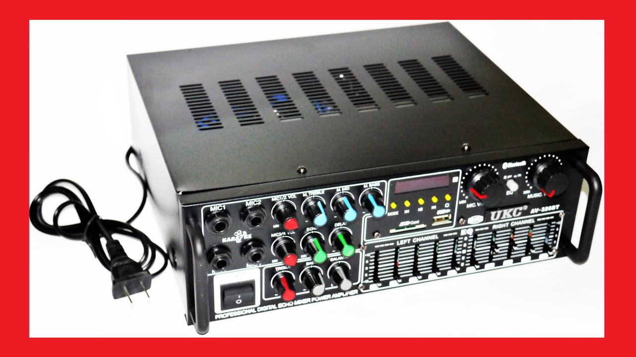 Усилитель UKC / MAX AV-326BT Bluetooth Караоке