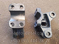 Кронштейн бугеля 151.56.176-3 левый,нового образца трактора Т151,Т17021,Т16131,Т150
