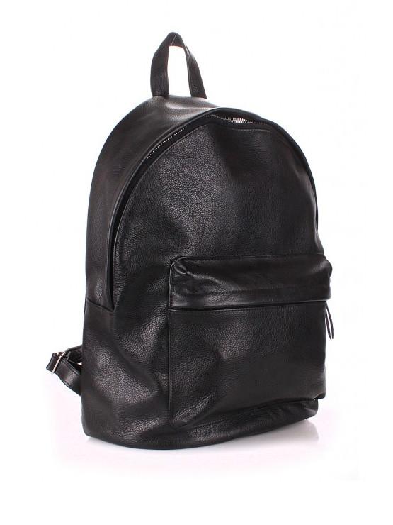 29ec352243f8 Рюкзак женский черный из натуральной кожи - стильный женский рюкзак ...