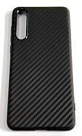 Чохол для Huawei P20 Pro силіконовий карбон