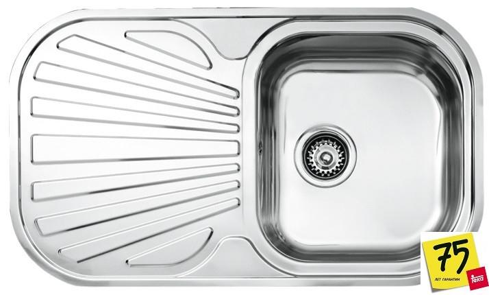 Мойка кухонная TEKA STYLO 1C 1E MTX