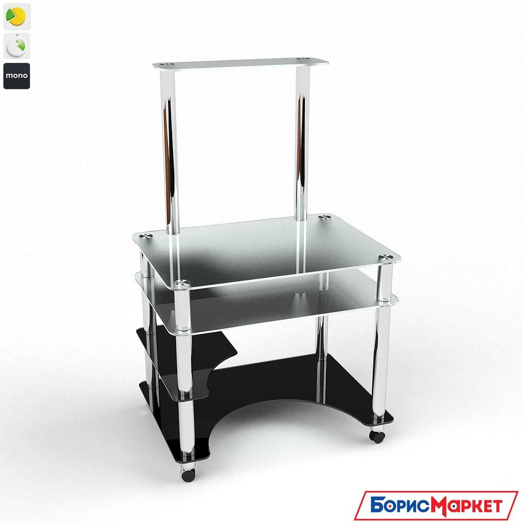 Компьютерный стол стекляный Кондор от БЦ-Стол