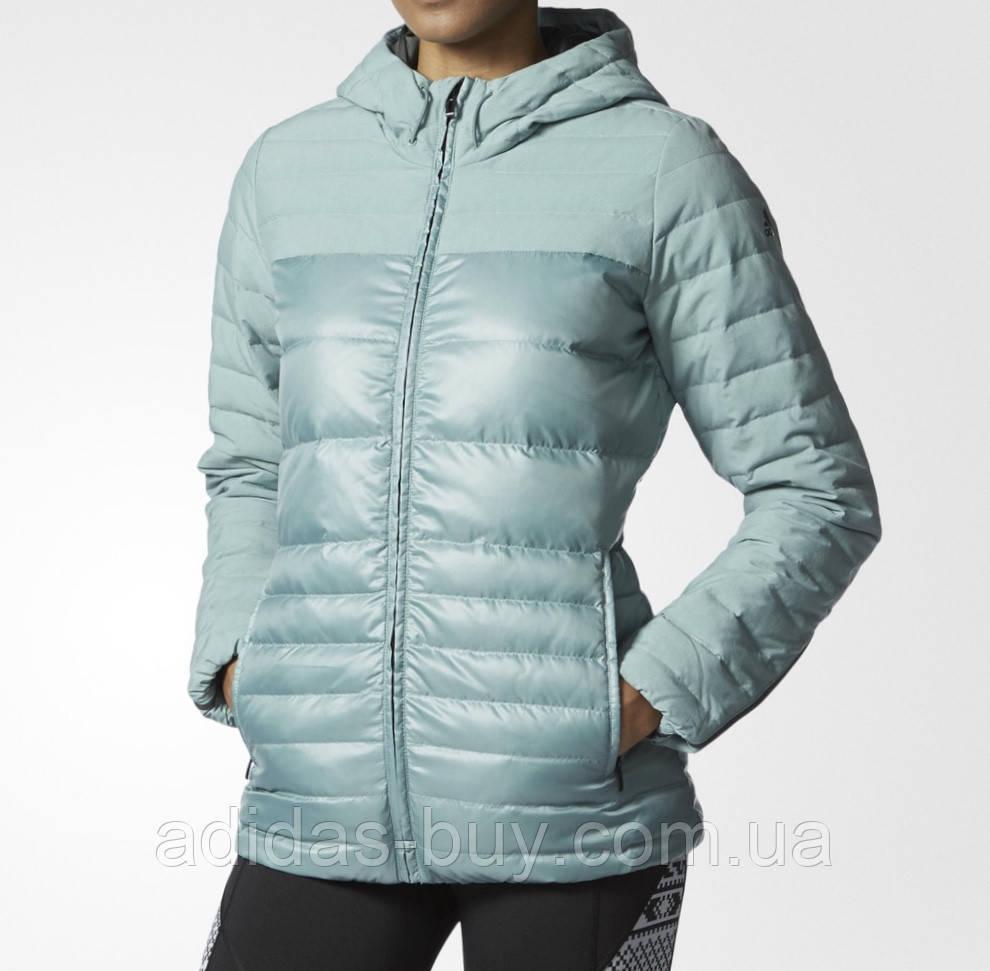 7eb9d79d07a Куртка пуховик женская оригинальная adidas COZY DOWN JKT AX8304 цвет ...