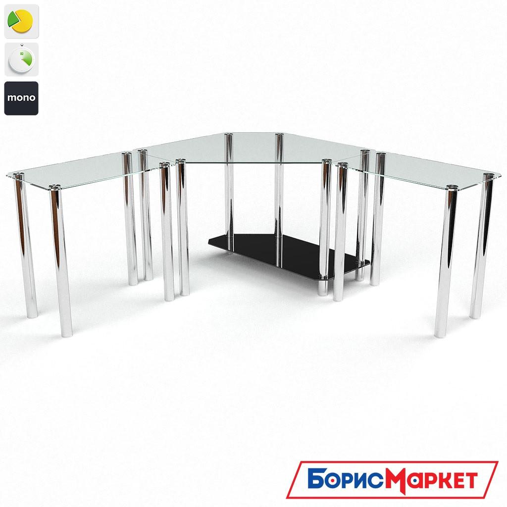 Компьютерный стол стекляный Кредо от БЦ-Стол