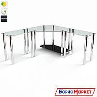 Компьютерный стол стекляный Кредо от БЦ-Стол, фото 1