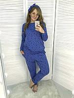 Женская пижама с повязкой Турецкий трикотаж Размер 48 50 52 54 56 Разные  цвета 9562757d2e6d3