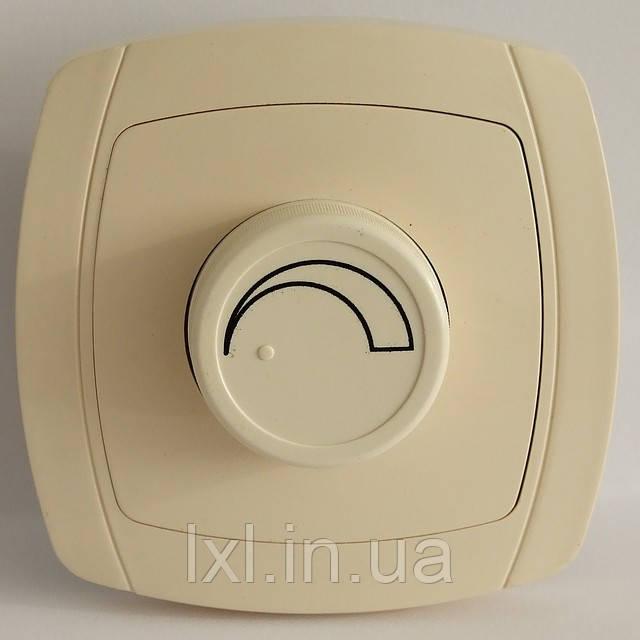 LXL BETA CREAM Светорегулятор 800W (белый/крем)