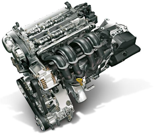 Двигатель и навесные элементы