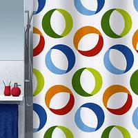 Шторка для ванной комнаты «RINGS»
