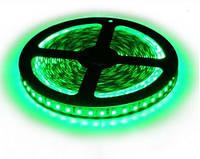 Светодиодная лента LED 3528-120 G зеленый.