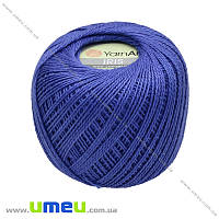 Пряжа YarnArt Iris 20 г, 138 м, Синяя 922, 1 моток (YAR-025017)