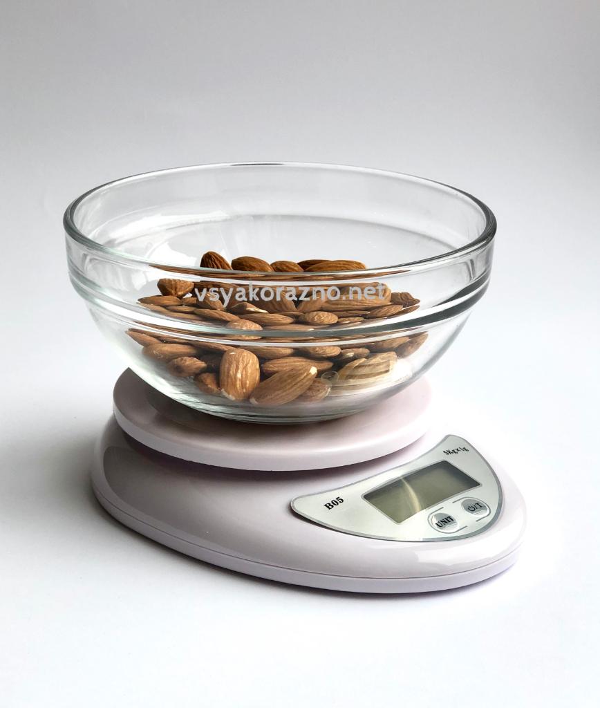Весы кухонные электронные для продуктов Kamille KM 7101