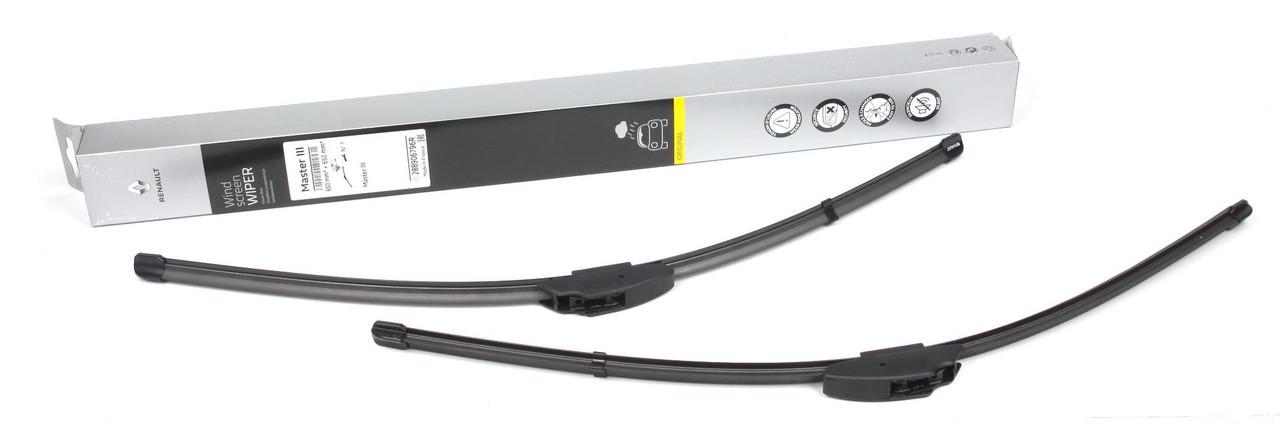 Щітки склоочисника (650/650mm) Renault Master III 03- (288906796R) RENAULT
