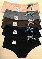 Женские трусики-шортики хлопок Nicoletta Турция 5 штук размер XL (46-48) 114023