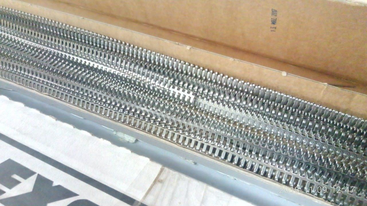 """Механічне з""""єднання (механическое соединение) для транспортерних стрічок анкерного типу"""