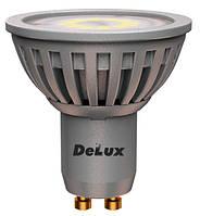 Світлодіодна лампа DELUX GU10E 5Вт 4100K 220Bт