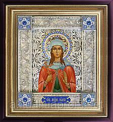 Святая Юлия икона скань