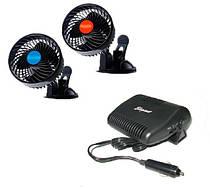Автомобильные вентеляторы и тепловентеляторы