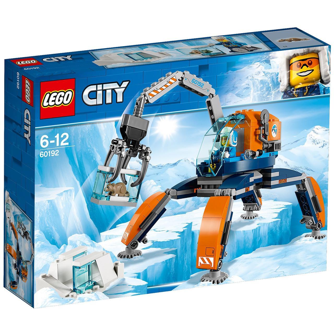 Конструктор LEGO City Арктическая экспедиция. Арктический вездеход. Оригинал Лего Сити 60192