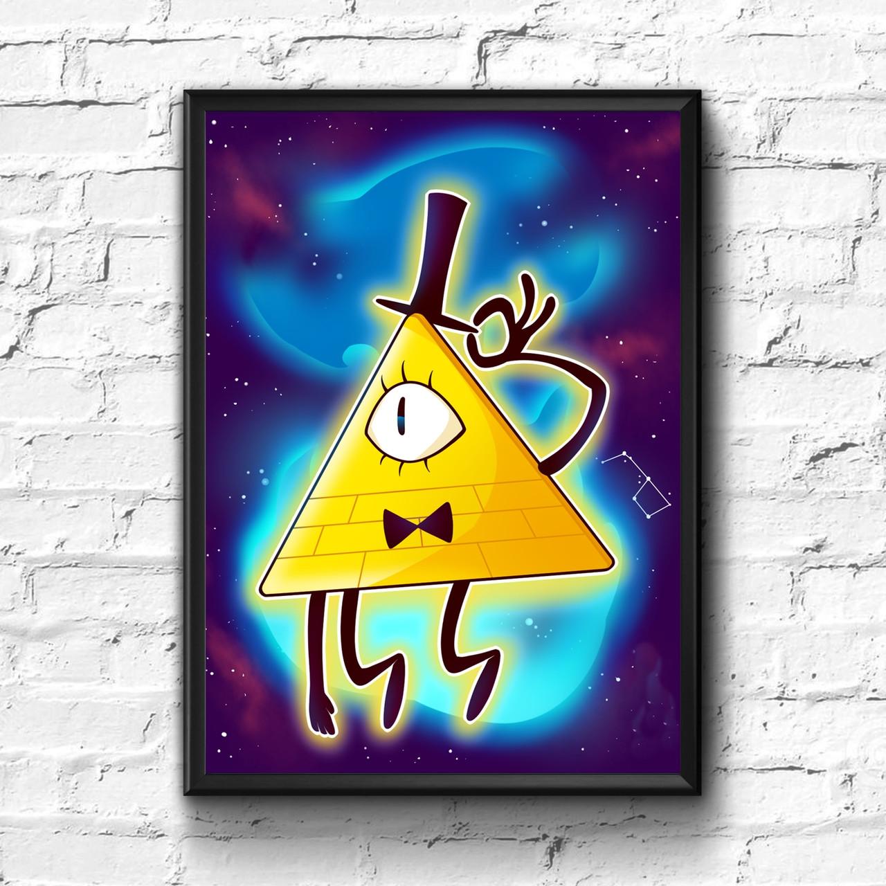 Постер с рамкой Gravity Falls #10
