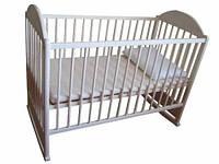 Детская кроватка АГУ Симба (белый)