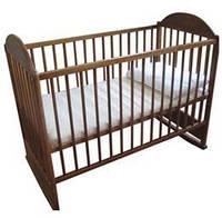 Детская кроватка АГУ Симба (орех)