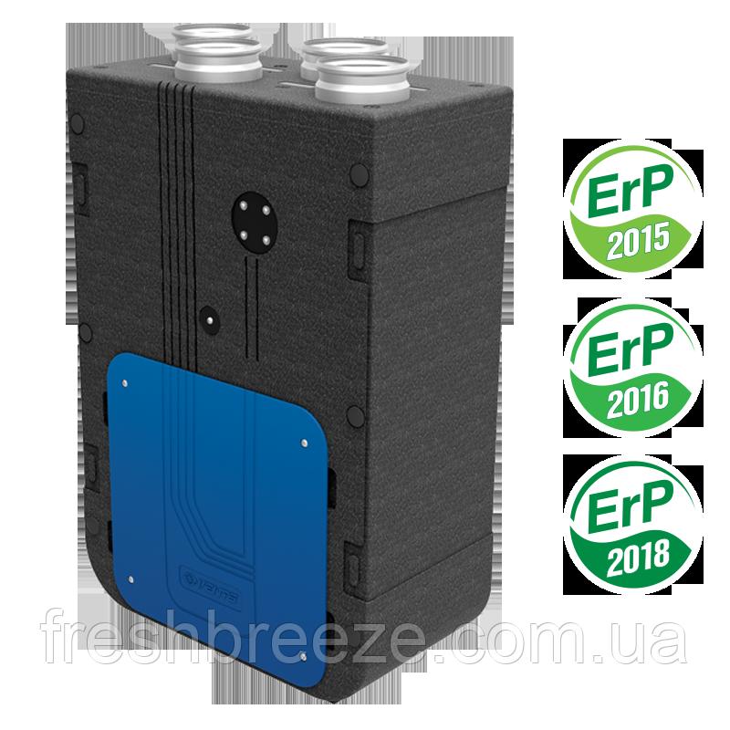 Приточно-вытяжная установка с рекуперацией тепла Вентс ВУЕ 270 В5Б ЕС А14