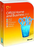 Microsoft Office 2010 Home and Business 32/64-bit, Russian, PC Attach Key (T5D-00704)