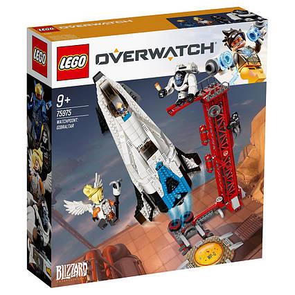 Lego Overwatch Дозорный пункт: Гибралтар 75975