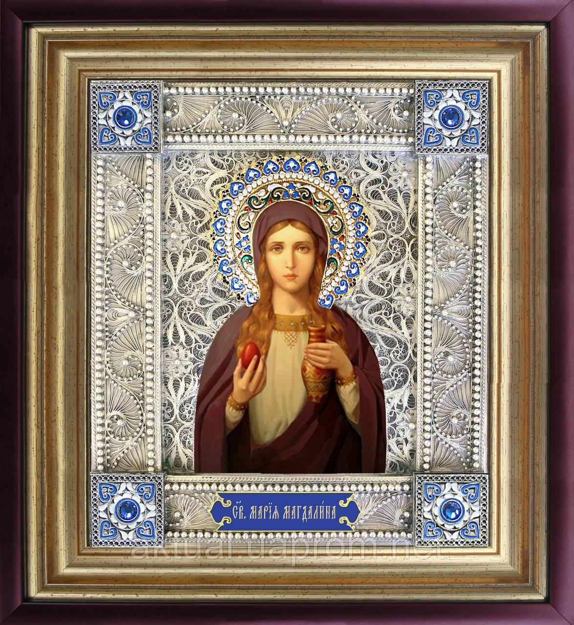 Святая Мария Магдалина икона  скань