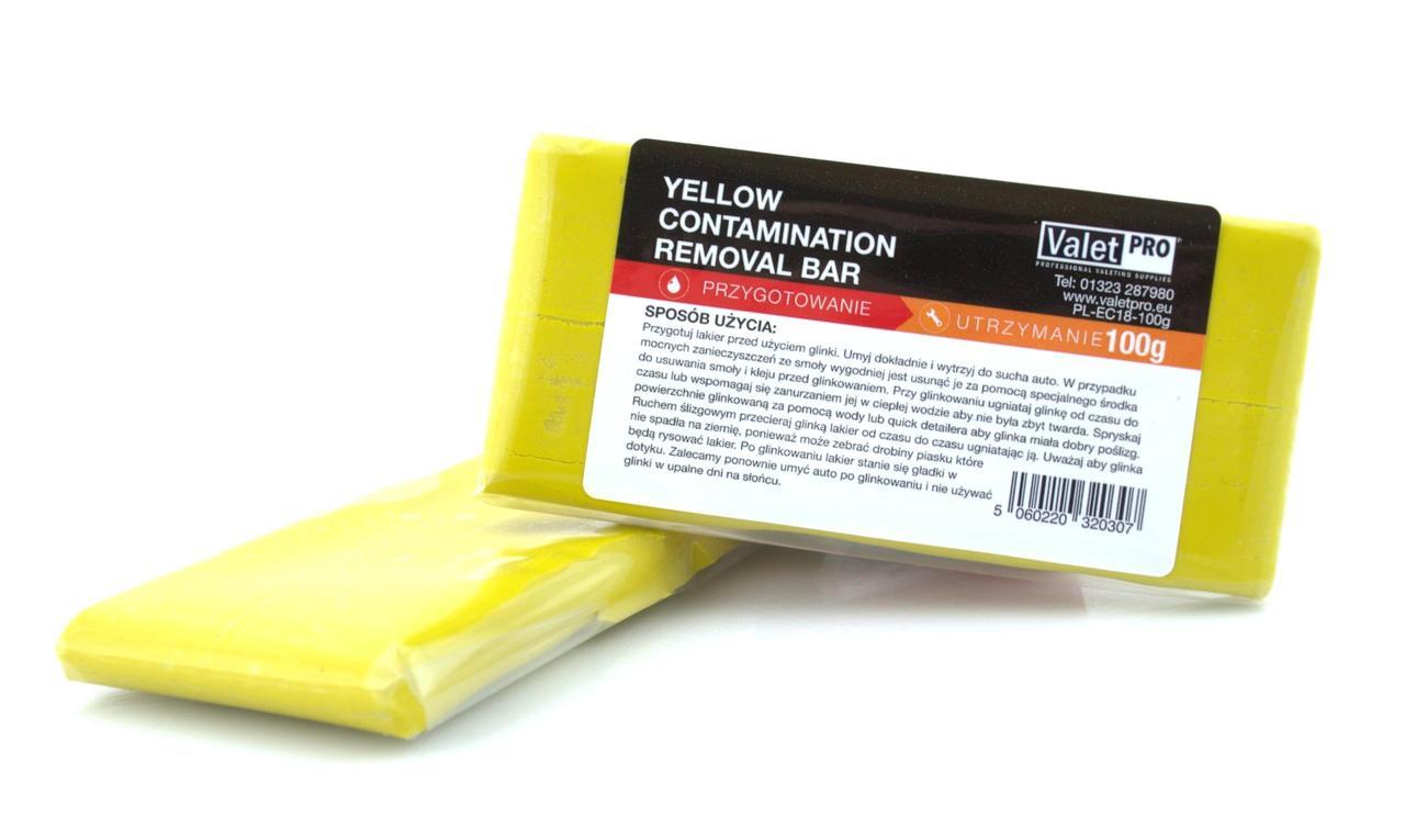 Valet Pro Yellow Fine Clay глина для м'якого очищення ЛКП