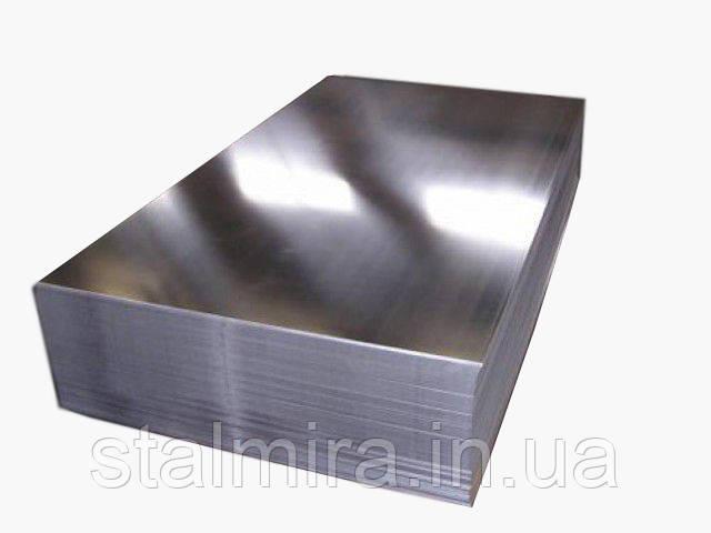 Лист алюминиевый, марка алюминия АД0Н, ГОСТ 21631-76