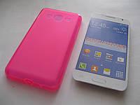Чехол силиконовый Samsung Galaxy Core2 Duos G355H розовый