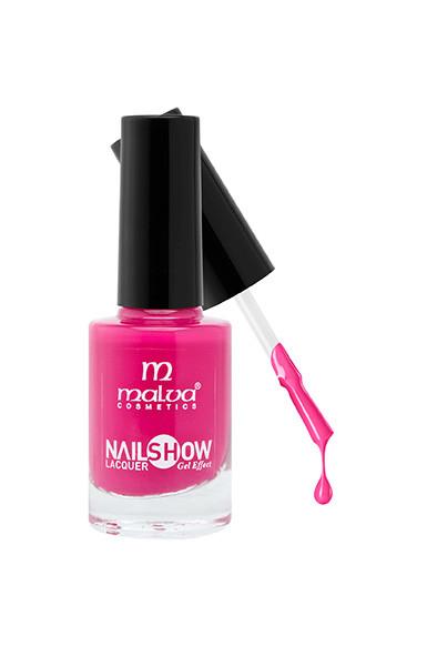 Лак для ногтей РМ-1002 Malva Cosmetics Nailshow Lacquer Gel Effect 09