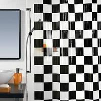 Шторка для душа «Шахматная доска»