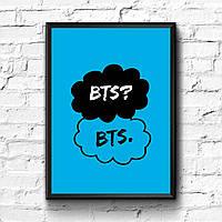 Постер с рамкой BTS #3