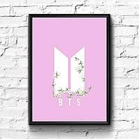 Постер с рамкой BTS #4