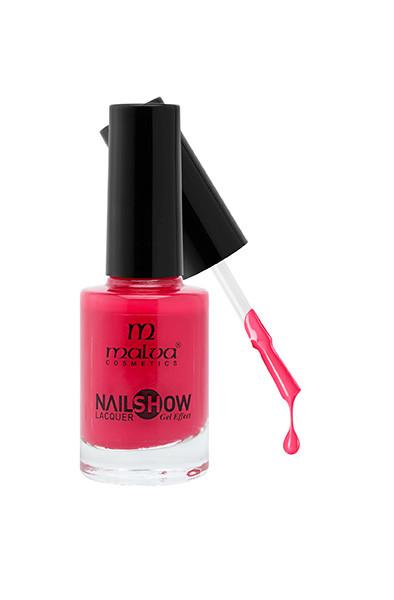 Лак для ногтей РМ-1002 Malva Cosmetics Nailshow Lacquer Gel Effect 35