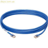 Патч-корд литой, UTP, RJ45, Cat.5e, 2m, синий