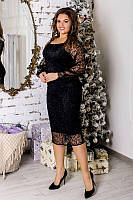 Красивое нарядное женское платье 48-54 размеров,3 цвета