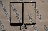 Оригинальный тачскрин / сенсор (сенсорное стекло) для HTC Desire 616 | D616W (черный цвет, Synaptics) + СКОТЧ