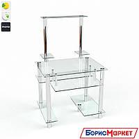 Компьютерный стол стекляный Рондо от БЦ-Стол, фото 1