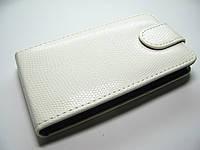 Чехол-книжка LG Optimus L5 E610 E612 E615 White