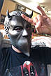 Маска музыкальной группы Ghost(Гоуст) взрослая латекс, резиновый шлем демона, фото 4